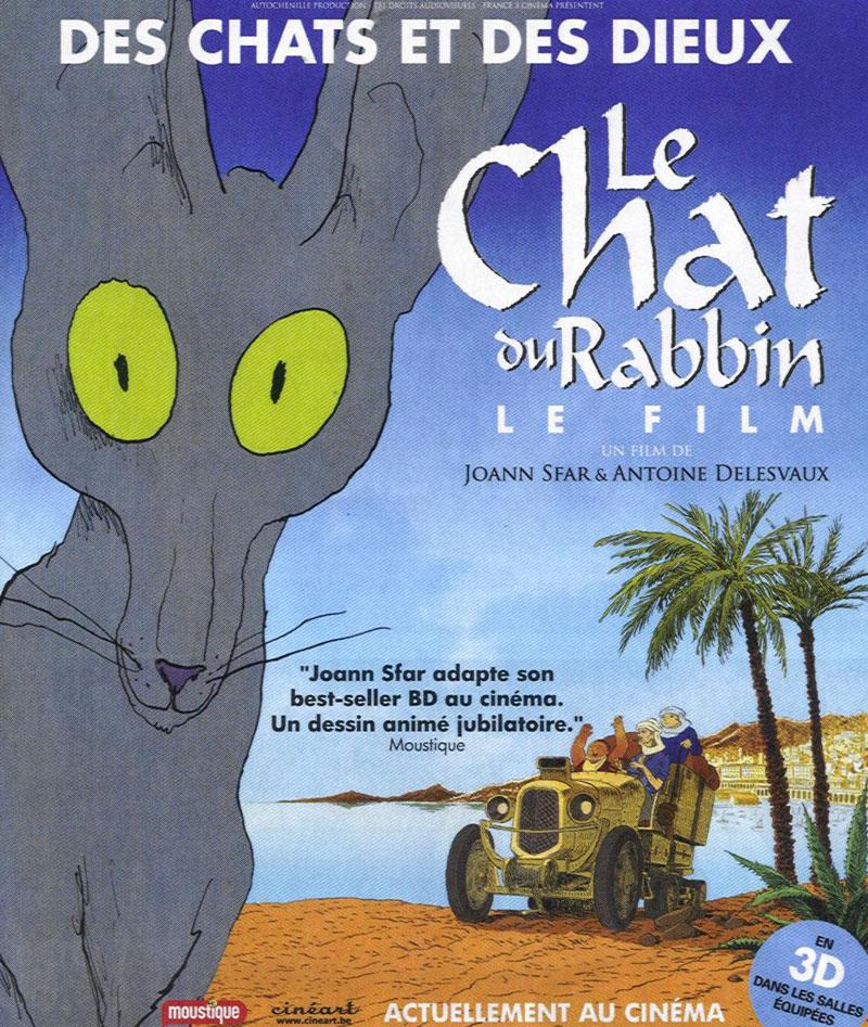 Le chat du rabbin (film)