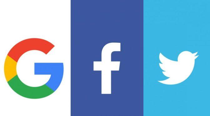 Google, Facebook, Twitter : sale temps pour la vie privée